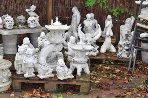 Figurer til haven